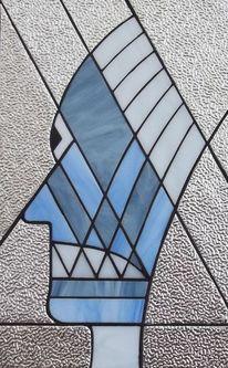 Glas, Kopf, Gesicht, Kunsthandwerk