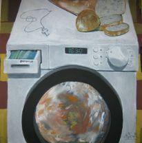 Abstrakt, Pastellmalerei, Surreal, Gemälde