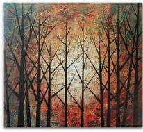Stimmung, Herbst, Technik, Malerei