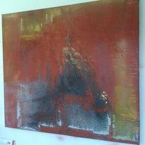 Malerei, Landschaft, Landschaftsmalerei, Collage