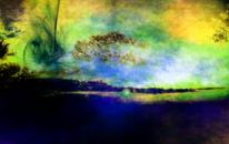 Baum, Wolken, Sonne, Fotografie
