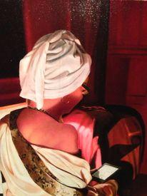 Ölmalerei, Portrait, Realismus, Malerei