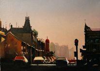 Landschaft, Ölmalerei, Impressionismus, Realismus