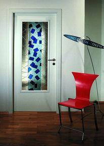 Türfüllung, Modern, Glas, Lichtausschnitt