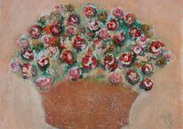 Malerei, Blumentopf