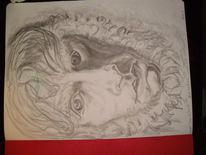 Caspar david friedrich, Bleistiftzeichnung, Zeichnung, Skizze
