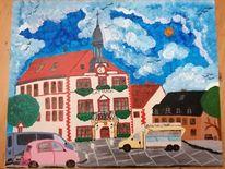 Geithain, Architektur stadt, Rathaus, Marktplatz