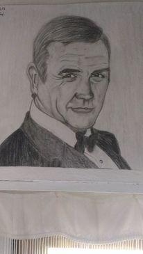 Schauspieler, Sean connery, Zeichnungen