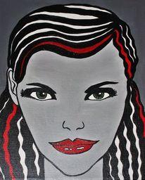 Malerei, Portrait, See