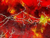 Zorn, Abstrakt, Malerei