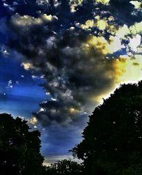 Erde, Leben, Wolken, Dämmerung
