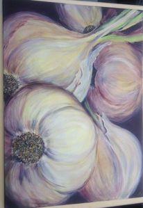 Knoblauch gemüse, Malerei