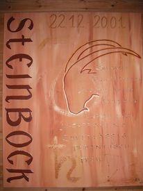 Steinbock, Sternzeichen, Malerei