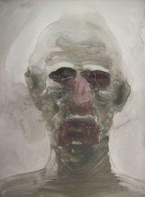 Portrait, Schön, Selbstportrait, Surreal