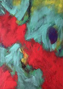 Bunt, Abstrakt, Fantasie, Malerei