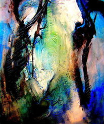 Acrylmalerei, Abstrakt, Fantasie, Malerei
