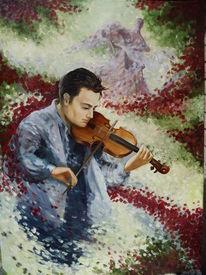 Wandmalerei, Malerei, Ölmalerei, Musik