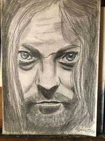 Zeichnung, Menschen, Portrait, Mann