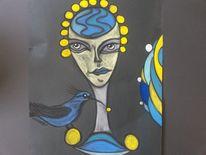 Vogel, Fantasie, Abstrakt, Bunt