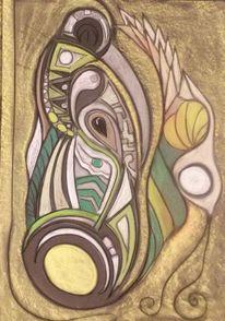 Abstrakt, Gestaltung, Fantasie, Rund