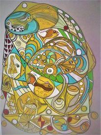 Fisch, Abstrakt, Fantasie, Wortlos
