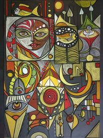 Fisch, Gestaltung, Augen, Gesicht