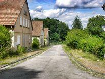 Siedlung, Rost, Natur, Haus