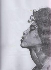 Skizze, Bleistiftzeichnung, Portrait, Zeichnungen