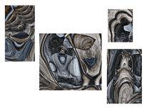 Polyptychon, Fraktalkunst, Digital, Digitale kunst
