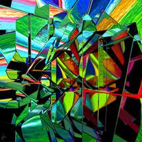 Blender, Fraktalkunst, Refraktion, Mandelbulb