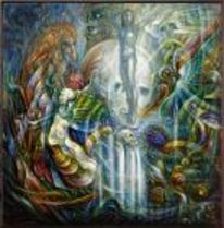 Phantastische malerei, Malerei, Erwachen