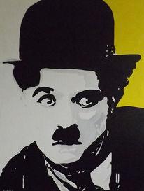 Art rabatt, Kunstförderung, Acryl doppel leinwand, Malerei