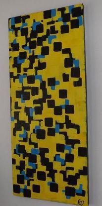 Abstrakt, Abstrakte malerei, Abstrakter expressionismus, Impressionismus kunst