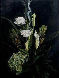 Stillleben, Malerei, Ölmalerei,