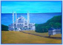 Malerei, Moschee