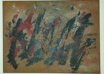 Abstrakt, Malerei, Unterschrift