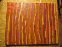 Wüste, Acrylmalerei, Abstrakt, Linie