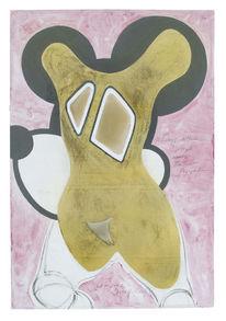 Bellmer, Mickey mouse, Zeichnungen, 2013