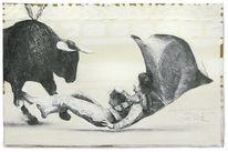 Stier, Torero, Tauromachie, Zeichnungen