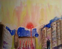 Traum, Romantik, Licht, Stadt