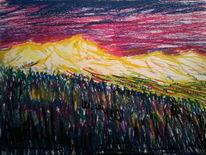 Pastellmalerei, Mystik, Zeichnung, Zauberhaft