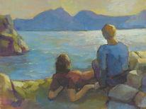Sommer, Strand, See, Sonne