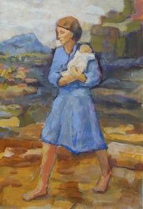 Menschen, Cezanne, Licht, Mutter