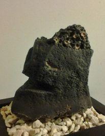 Stein, Plastik, Vulkan