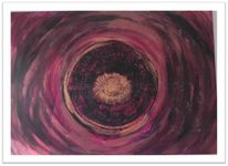 Sturm, Augen, Acrylmalerei, Malerei