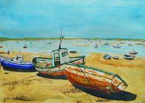 Meer, Boot, Sonne, Strand