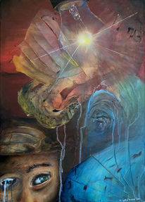 Spachtel, Umwelt, Blindheit, Malerei