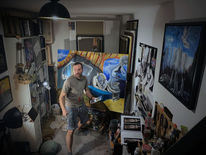 Atelier, Arbeiten, Pinnwand,