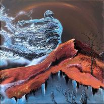 Fremde, Fantasie, Umwelt, Malerei