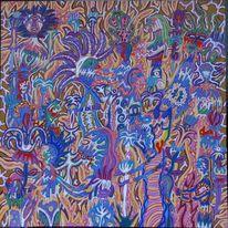 Farben, Rätsel, Vielfalt, Emotion